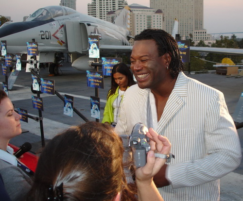 Christopher Judge at Stargate Continuum Premiere