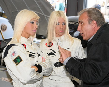 Amber and Angela Cope with Derrike Cope