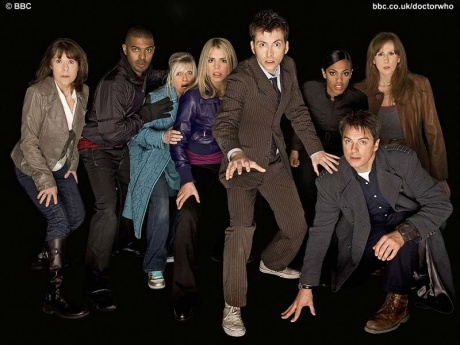 Doctor Who The End of Time - The old cast