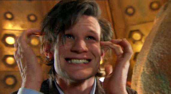 Matt Smith first scene as Doctor Who