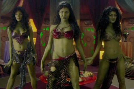 Orion Slave girls from 'Star Trek Enterprise'