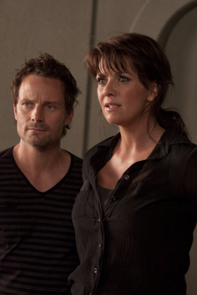 Sanctuary -  Ryan Robbins as Henry, Amanda Tapping as Dr. Helen Magnus