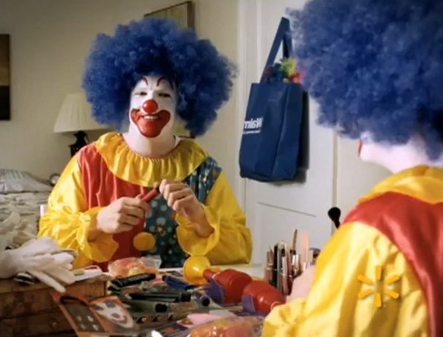 The Walmart Clown Commercial