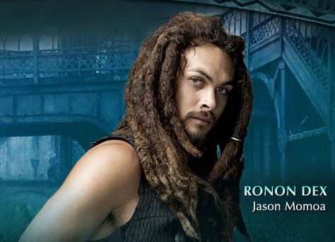 Jason Momoa as Ronon Dex from Stargate Atlantis
