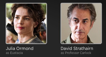 Temple Grandin cast on HBO - Julia Ormond and David Strathairn