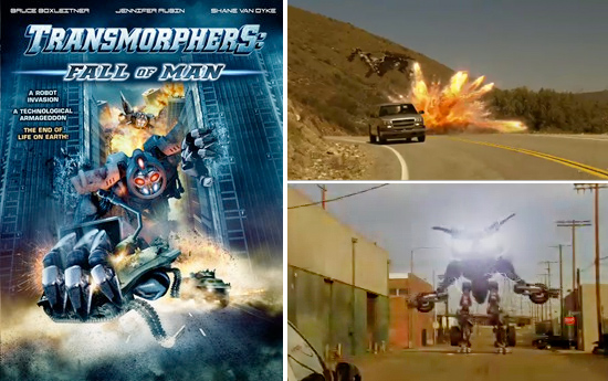 Transmorphers The Fall of Man on Syfy
