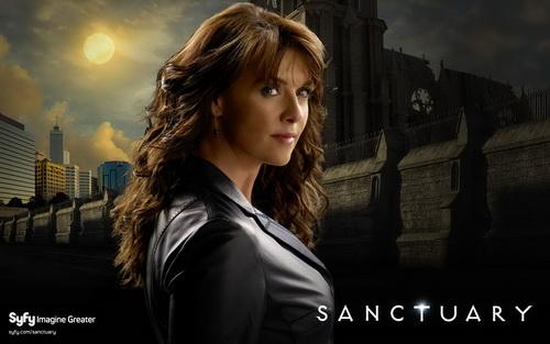 Sanctuary - Amanda Tapping as Helen Magnus
