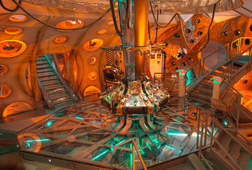 Doctor Who Tardis Interior 00