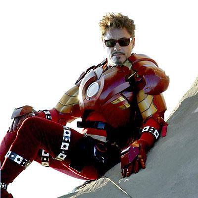 Iron Man 2 scene with Robert Downey Jr
