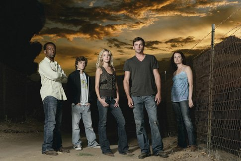 JERICHO cast with SKEET ULRICH