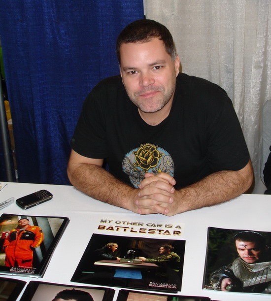 Aaron Douglas at WonderCon