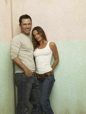 BURN NOTICE - Jeffrey Donovan and Gabrielle Anwar