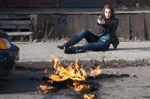 Felicia Day in Syfy TV Movie RED