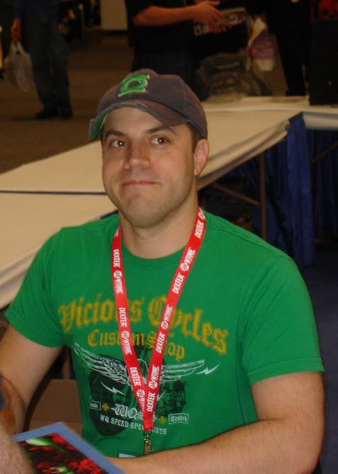 Geoff Johns at WonderCon 2010 01