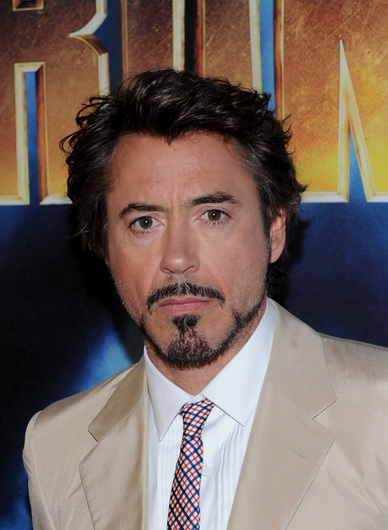 Actor Robert Downey Jr. attends the photo call for Paramount Picture's and Marvel Entertainment's