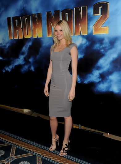 Actress Gwenyth Paltrow attends the photo call for Paramount Picture's and Marvel Entertainment's