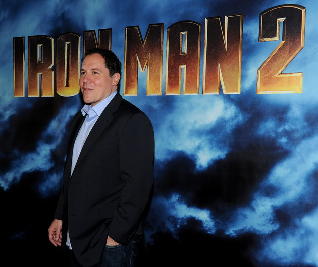 Director Jon Favreau attends the photo call for Paramount Picture's and Marvel Entertainment's