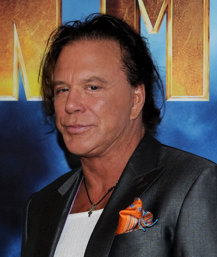 Actor Mickey Rourke attends the photo call for Paramount Picture's and Marvel Entertainment's