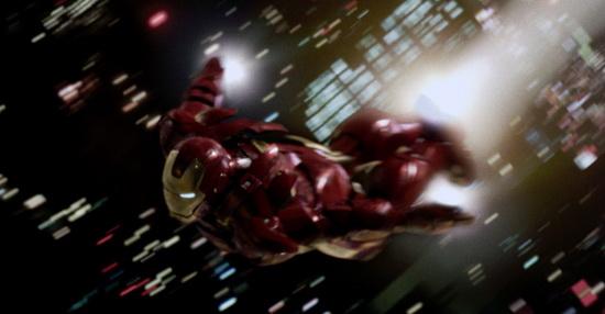 IRON MAN 2 scene - dropping in on Stark Expo