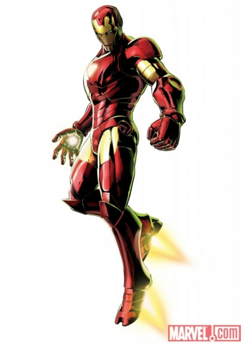 IRON MAN art from Marvel