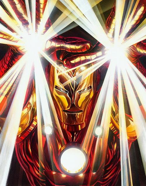 Iron Man Cover Art by Alex Ross