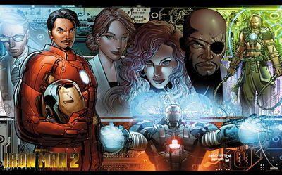 Iron Man 2 Artistic Work