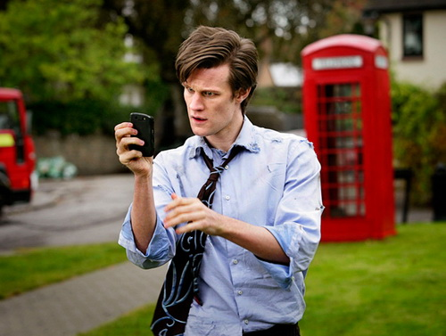 Matt Smith as Doctor Who in The Eleventh Hour