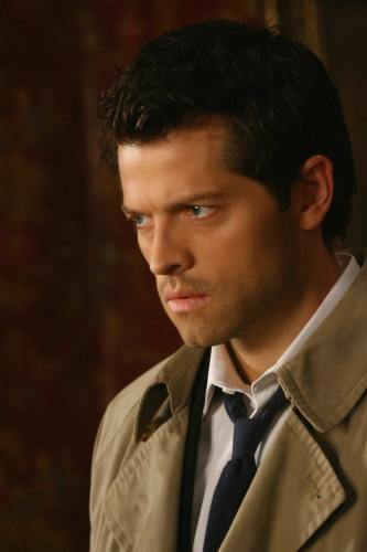 Misha Collins as Castiel in SUPERNATURAL on The CW