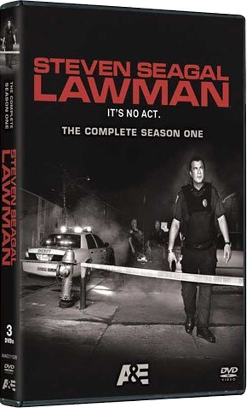 Steven Seagal LAWMAN s1 DVD