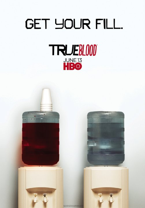 True Blood - Get Your Fill Season 3 Promo Poster Art