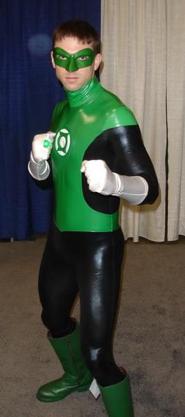 WonderCon 2010 - Green Lantern Costume