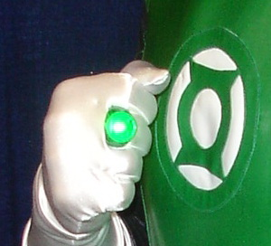 WonderCon 2010 - Green Lantern Ring