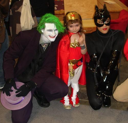 WonderCon 2010 - The Joker meets Wonder Woman mini