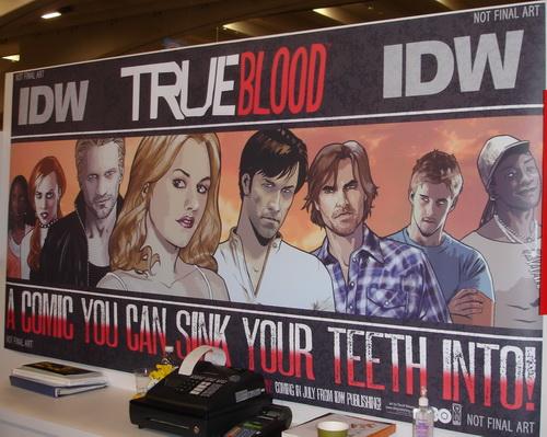 WonderCon 2010 True Blood Comic Book art