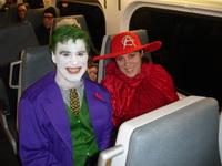 WonderCon_2010 - The Joker and guest