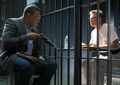 CSI S10 Season Finale Laurence Fishburne and Bill Irwin