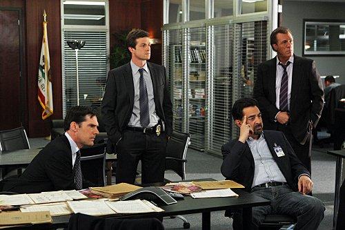 Criminal Minds Season Finale with Thomas Gibson - Eric Close - Joe Mantegna and Robert Davi