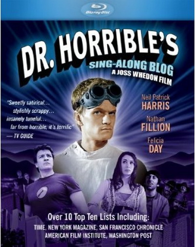 Dr Horribles Sing Along Blog by Joss Whedon on blu-ray