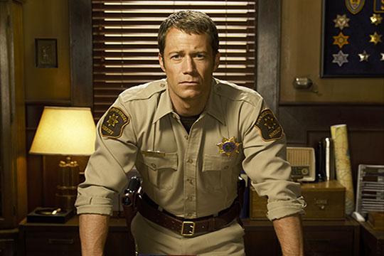 EUREKA - Sheriff Carter played by Collin Ferguson