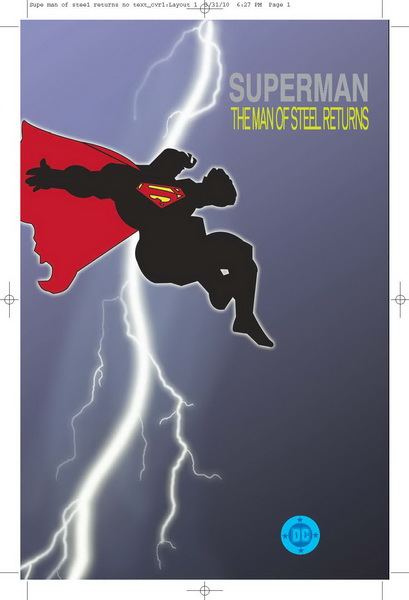 Fringe Alternate DC Comics - Superman Returns Mock Cover
