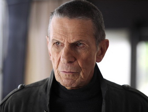 Fringe WIlliam Bell played by Leonard Nimoy