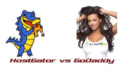 HOSTGATOR vs GODADDY Web Host Review