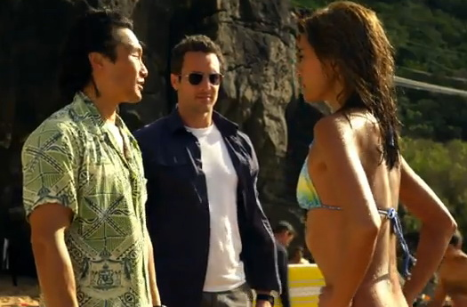 Hawaii Five-O Daniel Dae Kim, Alex O'Looughlin, Grace Park