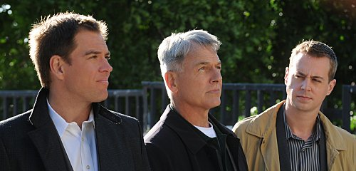 NCIS with Michael Weatherly and Mark Harmon and Sean Murray