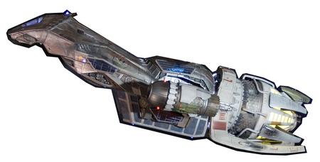 Serenity, a Firefly class ship