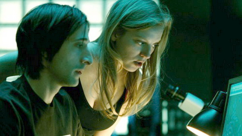 Splice with Adrien Brody and Sarah Polley