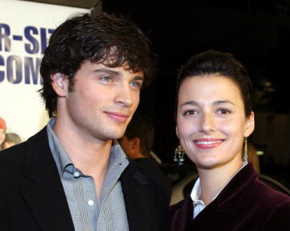 Tom Welling and wife Jamie White