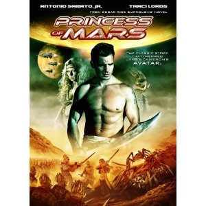 or all of the movie princess of mars on the syfy channel last weekend