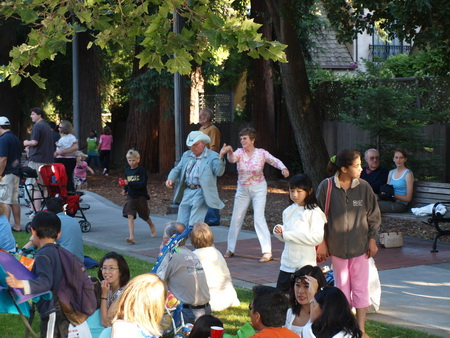Summer Concert Series in Menlo Park