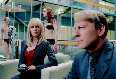 Surrogates with Bruce Willis and Radha Mitchell